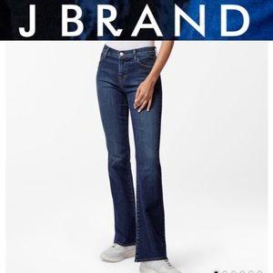 JBrand high Waisted Wide Leg Distressed
